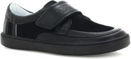 Акция на Туфли кожаные Bartek W-65369/SZ/R54 29 (12) (11) 18.7 см Черные (5904699877569) от Rozetka