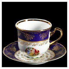 Акция на Чашка thun constance/7626300 (мадонна , кобальтовый борт) чайные 230 мл 12 предметов 00000001777 от Allo UA