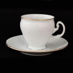 Акция на Чашка thun bernadotte/m311011 (обводка золото) кофейные 12 00000000682 от Allo UA