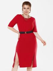 Акция на Платье Dressa 53627 54 Красное (2000405734065_D) от Rozetka