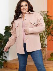 Акция на Куртка-рубашка New Fashion 908 46-48 Бежевая (2000000588599_ELF) от Rozetka
