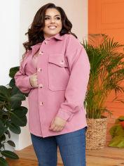 Акция на Куртка-рубашка New Fashion 908 42-44 Чайная роза (2000000588667_ELF) от Rozetka