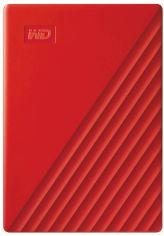 "Акция на Жесткий диск Western Digital My Passport 4TB WDBPKJ0040BRD-WESN 2.5"" USB 3.0 External Red от Rozetka"