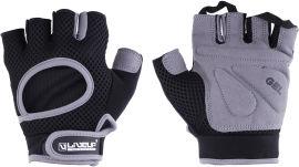 Акция на Перчатки LiveUP Men Fitness Gloves L Черный/Серый (LSU1580M-BGL) от Rozetka