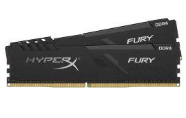 Акция на HyperX DDR4-3600 64GB PC4-28800 (Kit of 2x32768) Fury Black (HX436C18FB3K2/64) от Repka