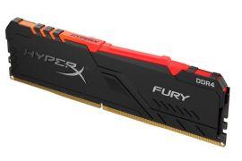 Акция на HyperX DDR4-3200 8GB Fury RGB Black  (HX432C16FB3A/8) от Repka