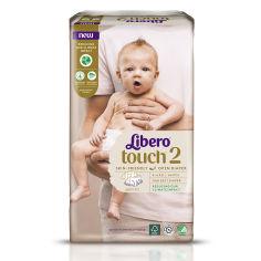 Акция на Подгузники Libero Touch 2, 3-6 кг, 64 шт. от Auchan