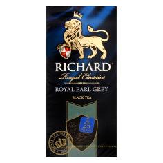 Акция на Чай Richard Earl Grey, 25 пакетиков от Auchan