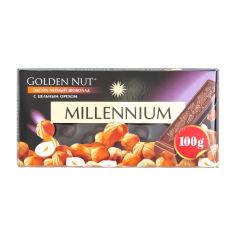 Акция на Шоколад черный Millennium Gold c лесными орехами, 100 г от Auchan