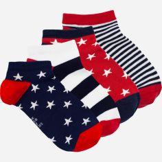 Акция на Набор носков The Pair of Socks 4120 Star Box Mini Small 4 пары 38-40 Разноцветный (4820234210633) от Rozetka
