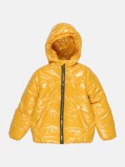 Акция на Демисезонная куртка Одягайко 22737 134 см Горчичная (ROZ6400044865) от Rozetka