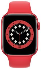 Акция на APPLE Watch Series 6 GPS 44mm PRODUCT(RED) Aluminium Case with PRODUCT(RED) Sport Band Regular от Repka