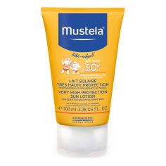 Акция на Солнцезащитный лосьон Mustela SPF 50+ 100 мл Уценка  ТМ: Mustela от Antoshka
