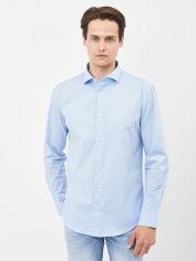 Акция на Рубашка Hugo Boss 10693.3 L (48) Синяя от Rozetka