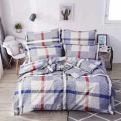 Акция на Комплект постельного белья Еней-Плюс Т0732 Полуторный от Allo UA