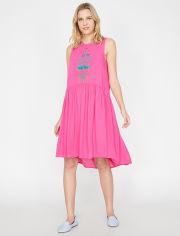 Акция на Платье Koton 7YAK88988PW-300 34 Fushia (8681687023289) от Rozetka