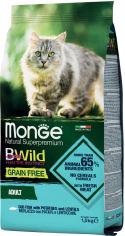 Акция на Сухой корм для котов Monge Cat Bwild GR.FREE со вкусом трески 1.5 кг (8009470012058) от Rozetka