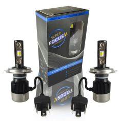 Акция на LED Лампы H4 Focus V 12-24V 32W 5700k 2900lm. Светодиодные лэд лампы H4 для легковых и грузовых авто. от Allo UA