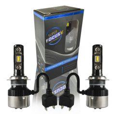 Акция на Лампы H7 Focus V 12-24V 30W 5700k 2900lm. Качественные светодиодные лэд лампы для легковых и грузовых авто. от Allo UA