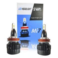 Акция на LED лампы H8 Н9 Н11 Mi712-24V 30W 5700k 4000lm. Светодиодные лэд лампы H11 для легковых и грузовых авто. от Allo UA