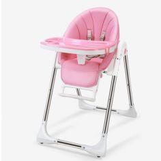 Акция на Детский стульчик для кормления Bestbaby BS-329 Pink Dreams складной от Allo UA
