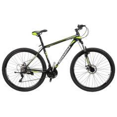 "Акция на Велосипед Cross Leader 29"" 21"" black-neon yellow-white (29CJPr19-69) 2021 от Allo UA"