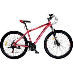 """Акция на Велосипед ROVER X60 Air 27,5"""" 17""""  red black 2021 от Allo UA"""
