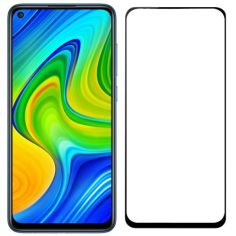 Акция на Защитное стекло Full Cover для Xiaomi Redmi Note 9 Pro Black от Allo UA