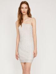 Акция на Платье Koton 8YAK84142FK-002 L Ecru (8681741952616) от Rozetka