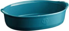 Акция на Форма для выпечки Emile Henry Ovenware Овальная 27х17.5 см Синяя (609050) от Rozetka
