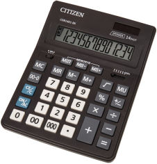 Акция на Калькулятор Citizen (CDB1401-BK) от Rozetka