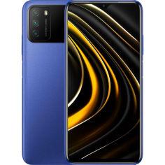 Акция на Смартфон XIAOMI POCO M3 4/128GB Dual Sim Cool Blue от Foxtrot
