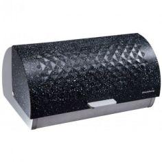 Акция на Хлебница из нержавеющей стали черная Klausberg KB-7402 38х28х18.5 см от Allo UA