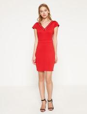 Акция на Платье Koton 7YAK84044FK M Red (8681456833392) от Rozetka