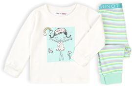 Акция на Пижама (футболка с длинными рукавами + штаны) Minoti Tg Pyj 3 17402 104-110 см Белая (5059030523732) от Rozetka