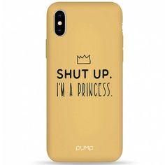"""Акция на Чехол Pump Silicone Minimalistic для Apple iPhone X / XS (5.8"""") I'm a Princess от Allo UA"""