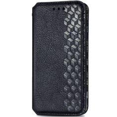 Акция на Кожаный чехол книжка GETMAN Cubic (PU) для Samsung Galaxy M31 Черный от Allo UA