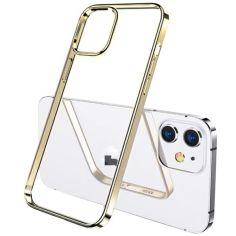"""Акция на TPU чехол G-Case Shiny Series для Apple iPhone 12 mini (5.4"""") Золотой от Allo UA"""