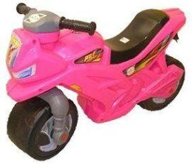 Акция на Мотоцикл Беговел Orion 501 Розовый от Stylus