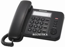 Акция на Panasonic KX-TS2352UAB Black от Rozetka
