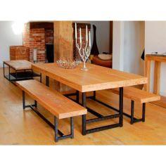 Акция на Обеденный стол в стиле LOFT (NS-111) от Allo UA