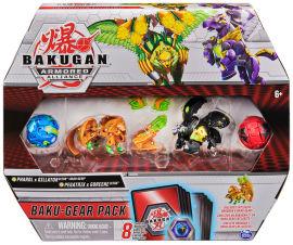 Акция на Игровой набор Spin Master Bakugan Armored Alliance из четырех бакуганов с оружием (Фарол и Пегатрикс) (SM64444-4) от Rozetka