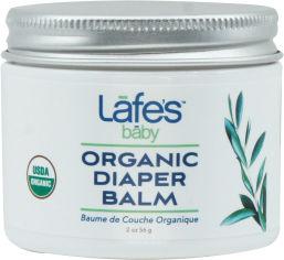 Акция на Бальзам под подгузник Lafe's Baby Organic Diaper Balm Органический 56 г (792870030019) от Rozetka