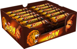 Акция на Упаковка батончиков Lion карамельный 48 шт х 42 г (4823000918719_4823000918726) от Rozetka