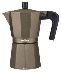Акция на Гейзерная кофеварка Maxmark 300 мл (MK-106BR) от Rozetka