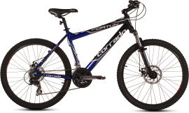 "Акция на Велосипед Corrado Fortun 26"" 18.5"" 2019 Черно-синий (0311) от Rozetka"