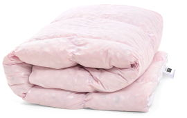Акция на Одеяло пуховое MirSon №1850 Bio-Pink 70% пух Зима 220x240 (2200003014488) от Rozetka