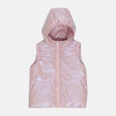 Акция на Демисезонный жилет Одягайко 72102 104 см Розовый (ROZ6400041695) от Rozetka