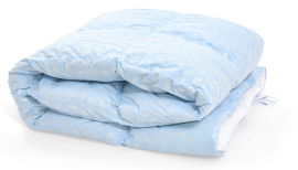 Акция на Одеяло пуховое MirSon №1837 Bio-Blue 90% пух деми 172x205 (2200003013450) от Rozetka
