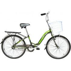 """Акция на Велосипед ARDIS NEW FOLD 24"""" 13"""" зеленый (0819X1) от Allo UA"""
